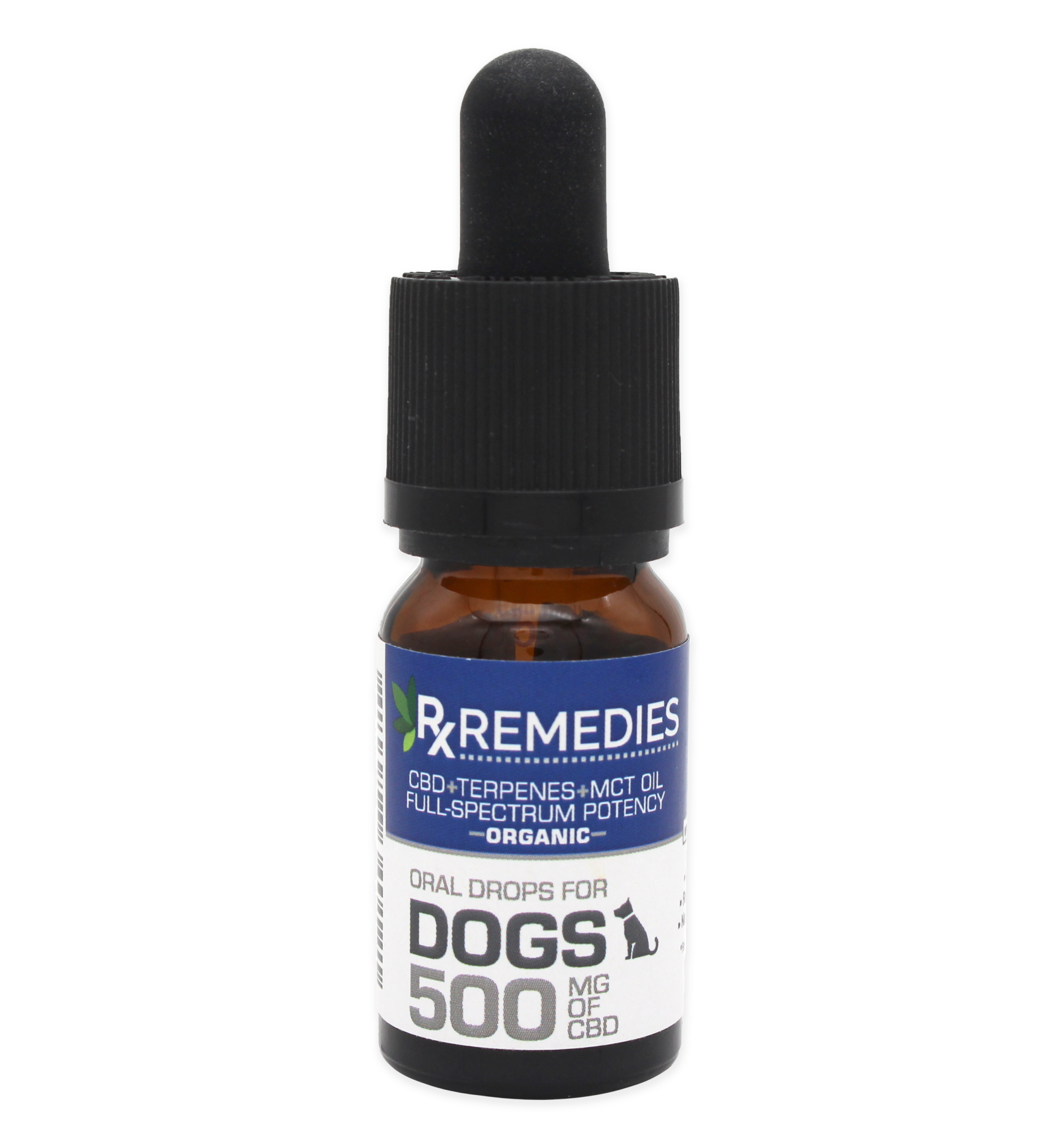 Rx Remedies, Oral Drops for Dogs, 500mg/10mL