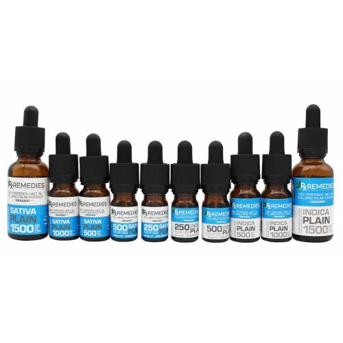 Rx Remedies, Full-spectrum, Sublingual Drops, Plain