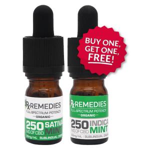 Peppermint CBD Sublingual Drops, BOGO