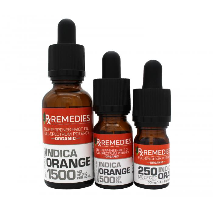 Rx Remedies Sublingual Drops, Sweet Orange, Indica