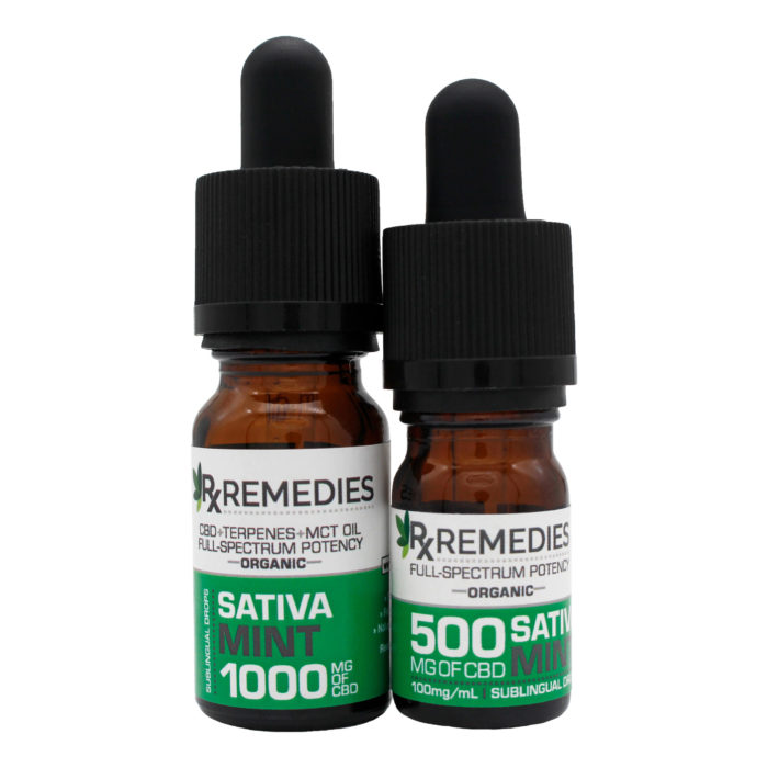 RxRemedies, Peppermint, Extra Strength, 100mg/mL, Sativa