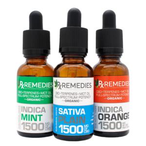 Rx Remedies, Sublingual Drops, 50mg/mL, Group