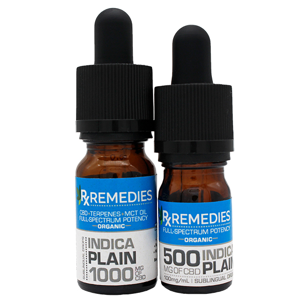 Rx Remedies, Plain, 100mg/mL, Indica, Group