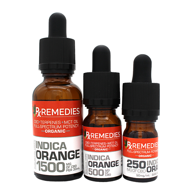 Rx Remedies, Orange, Indica, 50mg/mL, Group