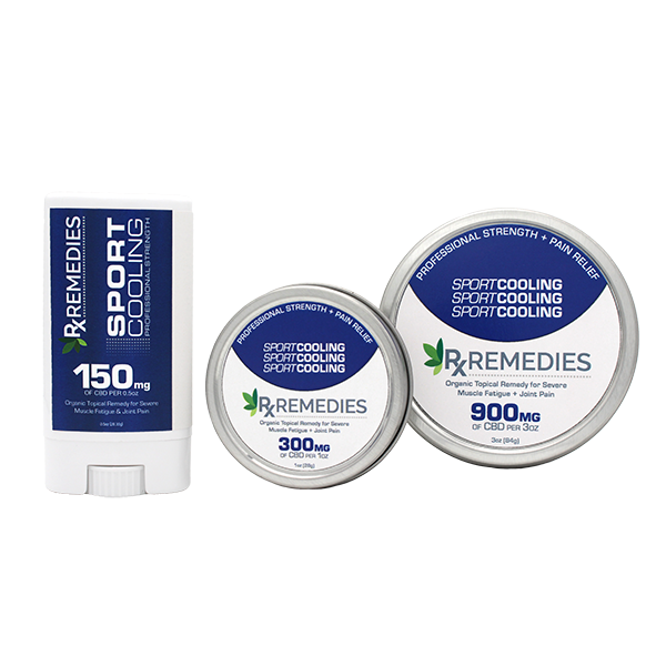 Rx Remedies, Professional CBD Topical, 300mg/oz, Cooling, Achy Muscles, Joint Pain, Muscle Pain