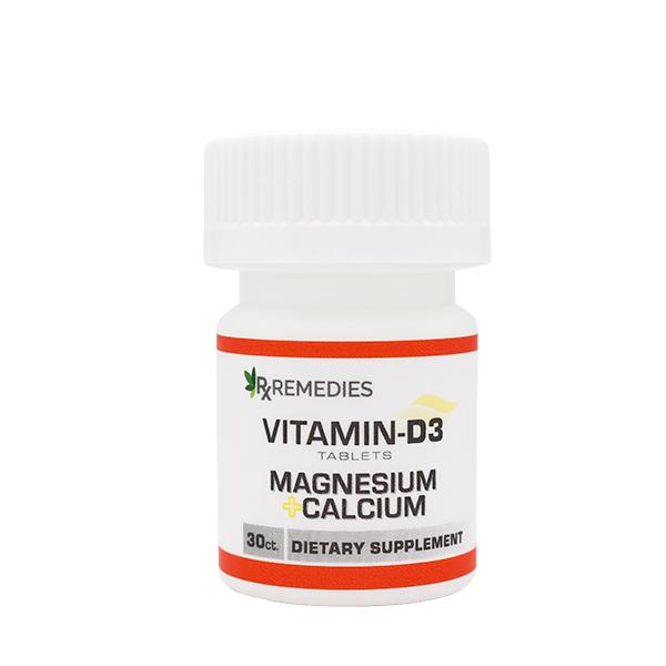 Vitamin D3 Supplement with Calcium and Magnesium